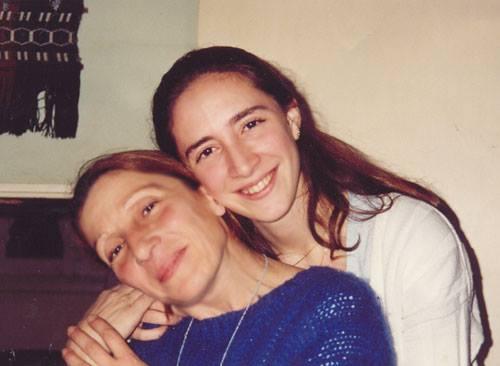 Mami y yo en mi cumple 1996
