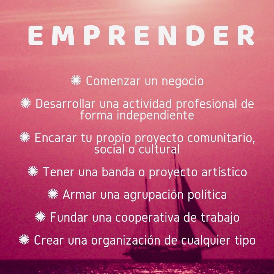 Emprender puede ser